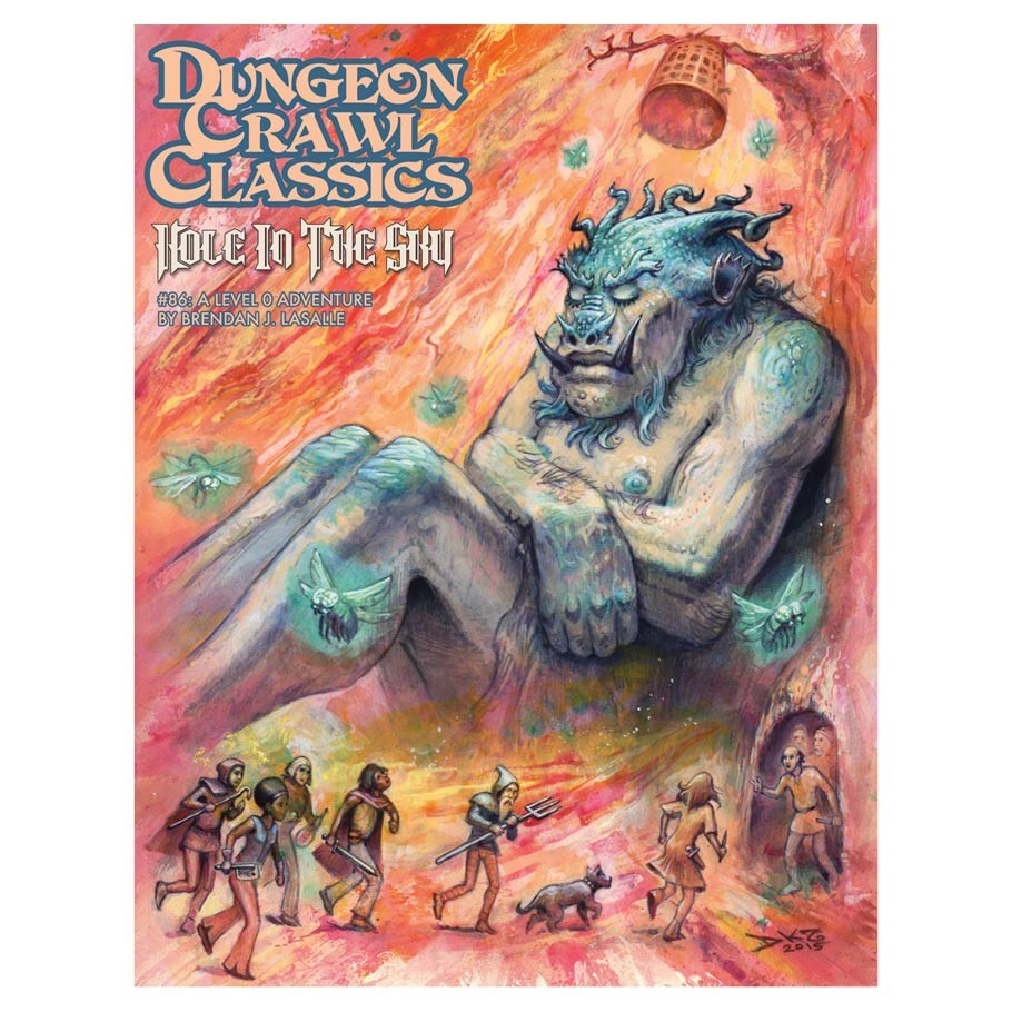 Dungeon Crawl Classics Hole in the Sky Adventure